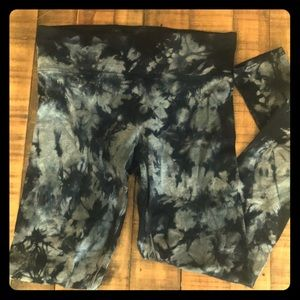 Calvin Klein Performance Tidal Tie Dye Leggings